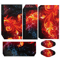 Flame Flower Rose Skin наклейка для PS4 Play Station 4 Console Decal Vinyl