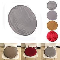 35x35x2cm круглый круговой офис бистро кухня столовая патио галстук на стул сиденье коврик коврик подушки