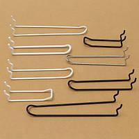 Щелевой панель хранения Pegboard крючок магазин ассортимент сильный держатель вешалки
