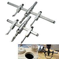 Регулируемые 30-130mm / 30-200mm круг отверстие увидел сверло фреза комплект поделки инструмент
