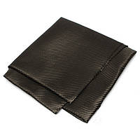 3k 200gsm 100 × 100см полотняного переплетения из углеродного волокна ткани ткани