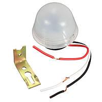 Водонепроницаемый автоматический регулятор датчика света для уличного освещения 10A 220v