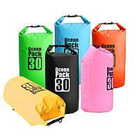 30л ПВХ водонепроницаемый мешок сухой мешок гребля парусное рафтингом байдарка байдарка сумка