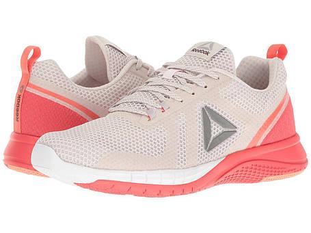 Кроссовки/Кеды (Оригинал) Reebok Print Runner 2.0 Lilac Ash/Whisper Grey/Fire Coral/Stellar Pink, фото 2