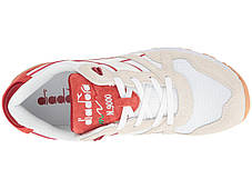 Кроссовки/Кеды (Оригинал) Diadora N9000 III White/Red Capital, фото 3