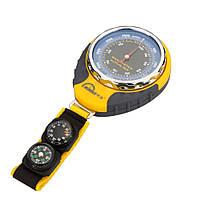 4 в 1 функции цифровой мини- компас высотомер термометр барометр оборудование с карабином