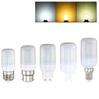 E27 e14 b22 G9 GU10 3w 27 СМД 5050 LED чистый белый теплый белый натуральный белый крышка AC220V кукуруза лампа