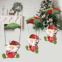Санта-Клауса снеговик в парашютной рождественской Xmas дерево висящей декора дома украшения