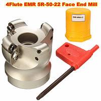 EMR 5R-50-22 4 флейт торцевой поверхности фрезы мельница Фрезерный резак для резки плоского