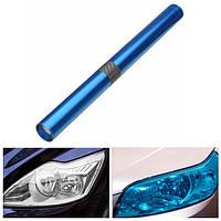 12x48-дюймовый синий свет автомобиля Оттенок виниловая пленка самоклеящаяся для деколи окна тела авто лампы