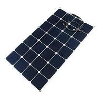 Гибкая цельная солнечная батарея мощьностью 80W и напряжением 12V для зарядки радиоуправляемых игрушек