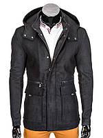 Мужское Пальто P281 L, Черный