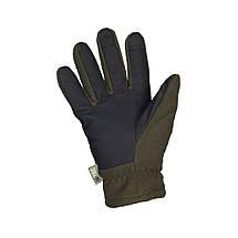 Перчатки зимние Fleece Thinsulate оливковые, фото 3