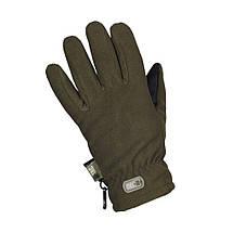 Перчатки зимние Fleece Thinsulate оливковые, фото 2