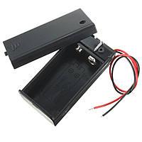 Поделки держатель контейнера для хранения ящик кейс 9В батареи с вкл / выкл тумблера