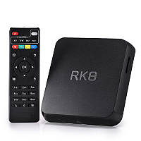 RK8 Android 5.1 RK3368 Octa Core 2GB / 8GB 2.4GHz / 5.8GHz WiFi 1000M BT 4.0 HD TV Коробка Android Mini PC