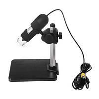 400x AV / TV порт цифровой микроскоп Лупа с 8 - LED белого света ca1t