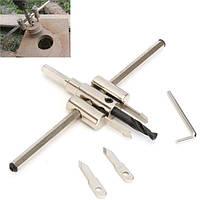 Регулируемые 40-300mm круг отверстие увидел сверло металл дерево режущий инструмент комплект поделки