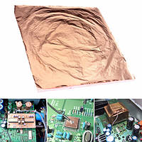 100шт 14x14cm медный лист фольги,упаковочную бумагу для золочения искусства работы судов