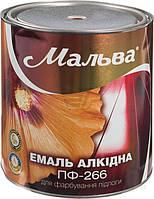 Эмаль алкидная для пола  ПФ-266 Мальва красно-коричневый глянец 2.8 л