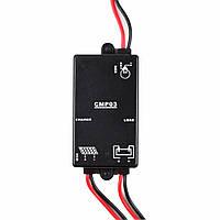 Cmp03 3a-6v нагрузка на батареи 24часа регулятора заряда заряда и разряда солнечного контроллера заряда