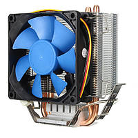 LGA775/1156/1155 драм 54/939/940/AM2 Intel тихий вентилятор охлаждения центрального процессора радиатор для