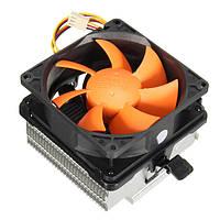 80 мм тихий вентилятор охлаждения центрального процессора радиатор для Intel ga775 lga1156x LGA1155 процессоров AMD AM2/AM3+2