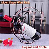 Форма луны вино Champange держатель бутылки вина стойки Accessaries