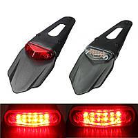 Мотоцикл кранцы 12 LED лампа остановить перерыв задний хвост красный свет универсальный