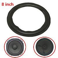 Черный 8-дюймовый динамик объемного звучания декоративный круг ремонта пену для бас-динамик рог