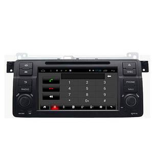 SA-710 Автомобильный DVD mp3 mp4 плеер FM AUX в андроид емкостным сенсорным экраном для BMW 3-й серии E46, фото 2