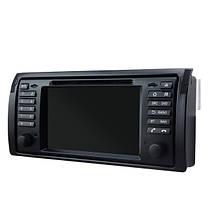 SA-709 Автомобильный DVD mp3 mp4 плеер FM AUX в андроид Bluetooth емкостным сенсорным экраном для BMW X5 5 серия, фото 3