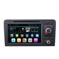 SA-703 Автомобильный DVD музыка mp3 mp4 плеер FM AUX емкостной сенсорный экран Android для Audi A3 2003 до 2013