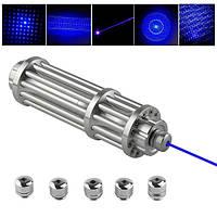 Uking ZQ-12b 445nm синий свет мощность луча горения лазерный указатель пера костюм