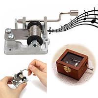 3 песни поделки ручной механический кривошипный музыкальная/музыкальная шкатулка подарок на день рождения