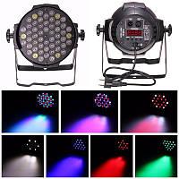 54pcs 3w 6ch LED rbgw 180w этап вол освещения музыкальный клуб диско DJ Party бар