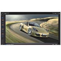 YT-F6081 6.95-дюймовый автомобильный DVD-плеер mp3 mp4 цифровой сенсорный TFT экран USB SD MMC карт