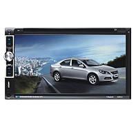 YT-F6063B 6.95-дюймовый автомобильный DVD-плеер mp3 mp4 цифровой сенсорный TFT экран USB SD MMC карт