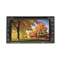 F6016 6.2 дюйма 2 дин экран автомобиля DVD стерео MP3-плеер Bluetooth сенсорный TFT AUX считывателями карт SD MMC универсальных