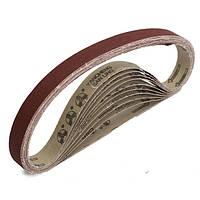 10шт 80 грит 760x25mm циркониевые абразивные ленты шлифовальные для шлифования древесины работы