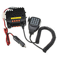 Qyt уф портативный двухдиапазонный vhf136-174 / uhf400-480mhz мобильный приемопередатчик транспортного средства двусторонней радиосвязи