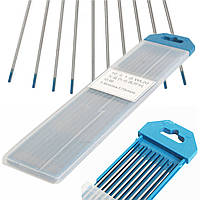 10pcs вольфрама WL20 1 / 16inch x7inch 2 процента Lanthanated синий кончик электрода ВИГ 1.6mmx175mm