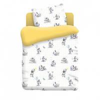 Комплект детского постельного белья Зайчата Nova Postil поплин