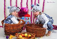 """Детский карнавальный костюм """"МЫШКА"""" для мальчика на 3-7 лет"""