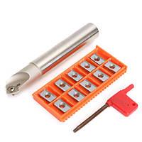 ССК c20-20-130 20мм индексируемая фаска концевой фрезы с 10шт apkt1604 алюминиевыми вставками