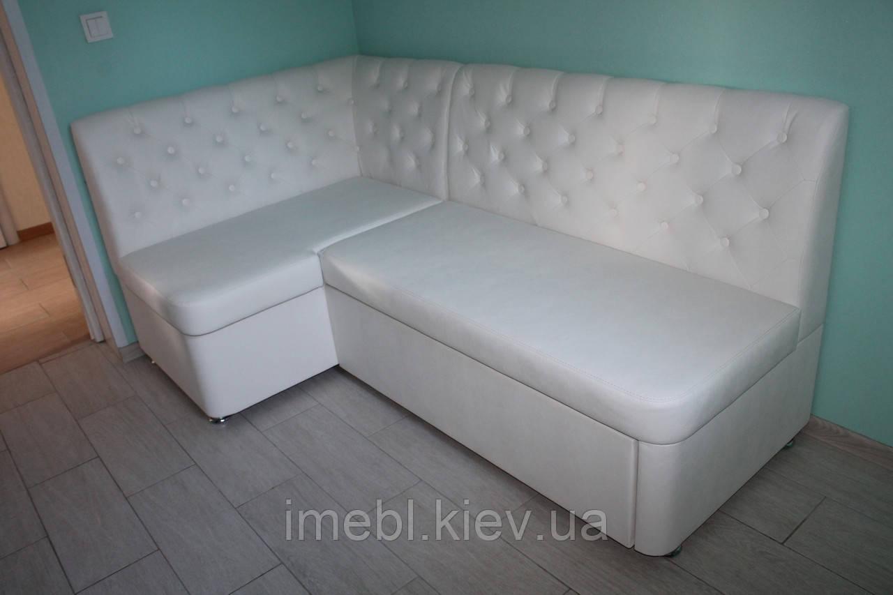 Не большой кухонный уголок с местом для сна (Белый)