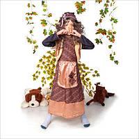 """Детский карнавальный костюм """"БАБА ЯГА"""" для девочки от 5 до 9 лет"""