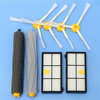 Аксессуары для пылесосов 8 штук Набор Фильтры и Кисти для iRobot Roomba 800 900 Series