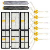 14 штук Аксессуары для пылесосов Набор Фильтры и Кисти для iRobot Roomba 800 900 Series