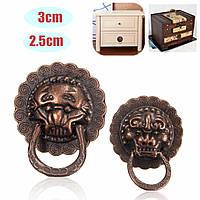 Цинкового сплава Lionhead модель ручки петли дверные шкафы ручка